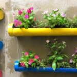 Best Ideas DIY Vertical Garden, Recycle PVC Pipes into Beautiful Flower Pots
