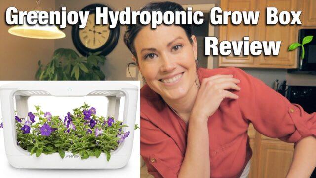 Greenjoy Hydroponic Grow Box – Setting Up Hydroponic Herb Garden – PART 1