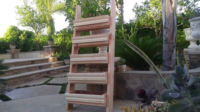 Building Vertical Planter for Succulents