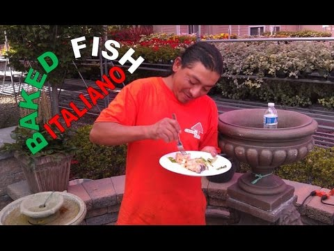 BAKED FISH ITALIANO: Big Meals, Small Places with Sal & Richard
