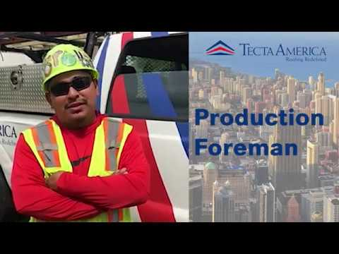 Luis Production Foreman at Illinois Roofing a Tecta America Company