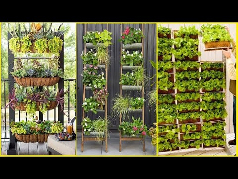30 Genius Vertical Gardening Ideas For Small Gardens | diy garden