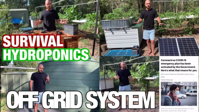 How to Build an Off Grid Hydroponic/Aquaponic System: Survival Hydroponics
