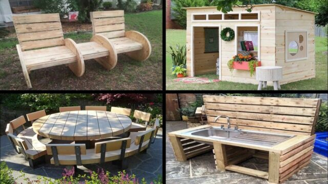 50 Awesome DIY Pallet Furniture Ideas