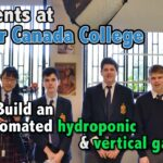 Automated Hydroponics Systems Built and Programmed by LCC Students