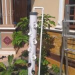 DIY : How to make a vertical tower hydroponic system part 2