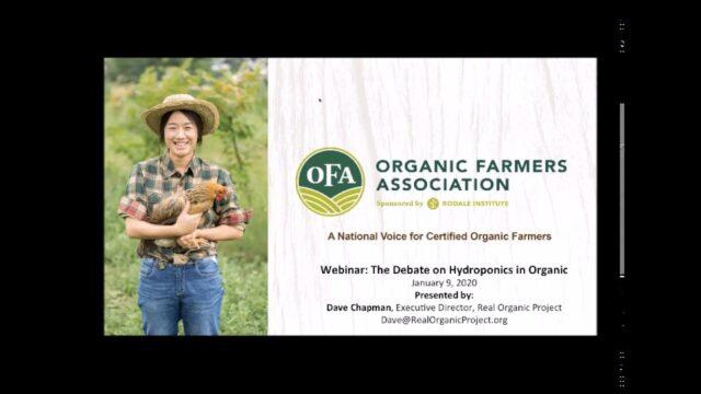 The Debate on Hydroponics in Organic