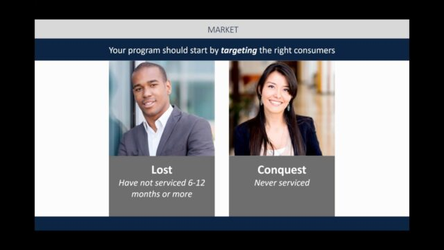 "How To Recover Lost Customers & Dominate the ""High Mileage – High Margin"" Repair Space"