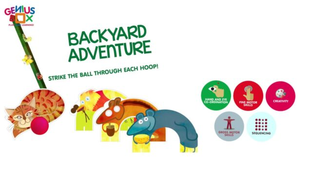 Genius Box Learning Toys for Children : Garden Escapades Activity Kit