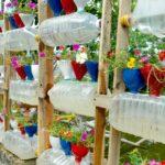 Amazing Plastic Bottle Vertical Garden Ideas, DIY Vertical Gardening   T&V Home Garden