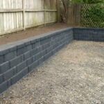 How to Build a Block Retaining Wall   Mitre 10 Easy As DIY