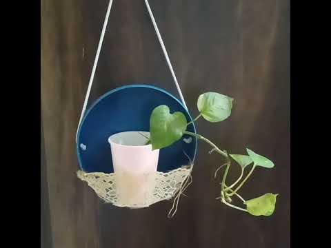 4 Easy DIY wall hanging planters