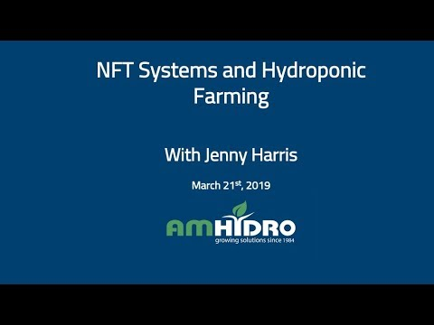 NFT Systems and Hydroponic Farming