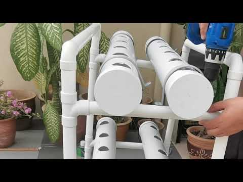 HOW TO MAKE HYDROPONIC SYSTEM AT HOME //EASY AND CHEAP