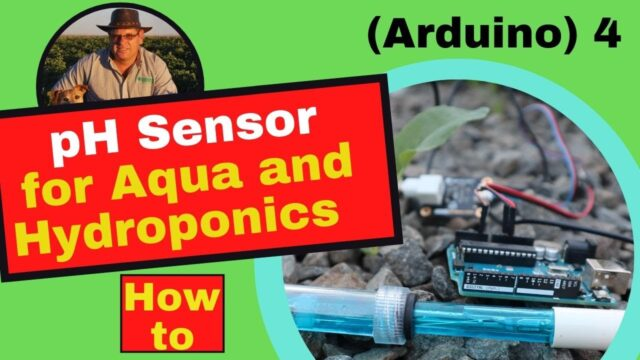 pH sensing – Aquaponics and Hydroponics