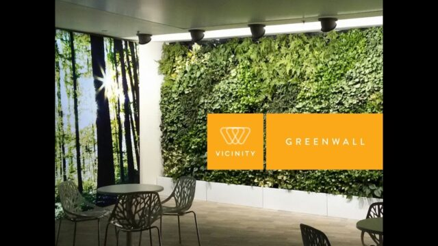 Vicinity Greenwall – A Modular Vertical Garden