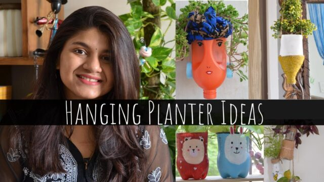 4 Simple and Easy Hanging Planter Ideas | Hanging Decoration Ideas | Indoor Hanging Plants Decor