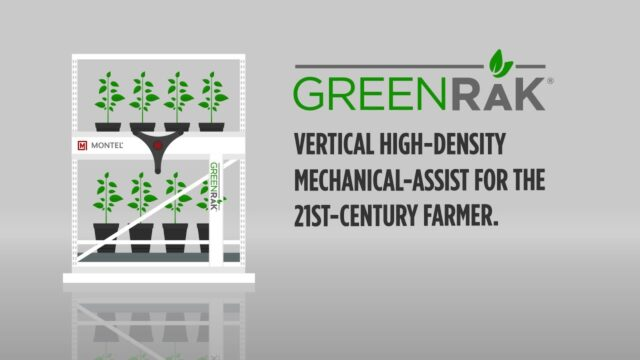Montel's Mobile Vertical Farming Systems | GreenRak and Grow&Roll 8P or 8MA