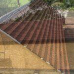 LightWeight Tiles Ltd Granulated Autumn Brown roof tile  installation- new build barn