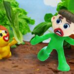 Kids Keep Worm in the Garden – Stop Motion Cartoons Animation