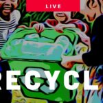 Turning recycling into gardening makes! [How to get Kids Gardening LIVE SHOW]