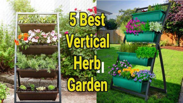 5 Best Vertical Herb Garden Planter Box Outdoor