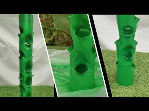 DIY _ How To Make Hydroponic Tower system