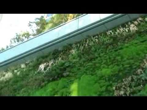Jardines verticales en el centro de Madrid