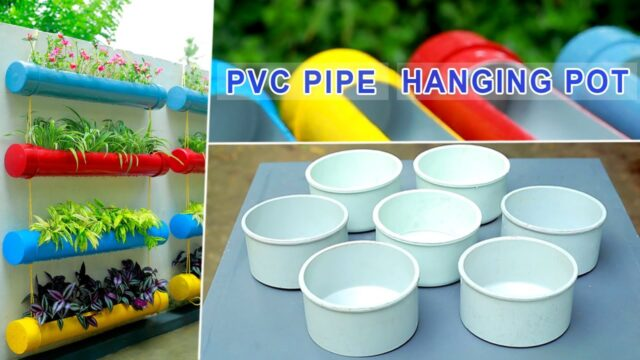 Amazing Vertical Garden Idea Using Pvc Pipes | Balcony Garden Ideas | DIY Malayalam