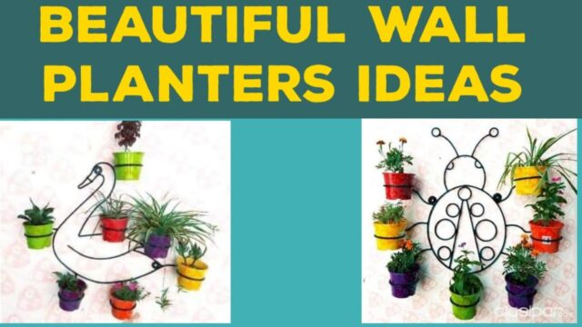 Modern wall plant stand ideas/Wall planters design ideas/planter ideas/