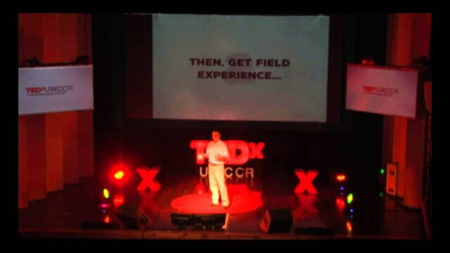 Making it as  international development & humanitarian aid professional | Stephen Ladek | TEDxUWCCR