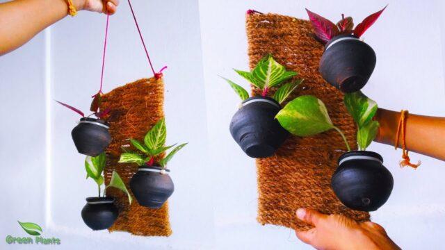 Hanging pots | Hanging plant pots | Vertical Garden Pots | Hanging Flower Pots//GREEN PLANTS