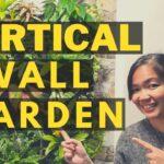 My VERTICAL WALL GARDEN :-] | DIY Indoor Plant Pocket Wall Garden (PHILIPPINES)