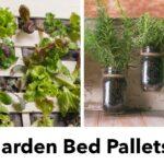 DIY Garden Bed Pallets | Windowsill Herb Garden + Vertical Veggie Garden