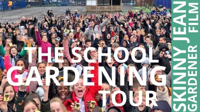 The School Gardening Tour Documentary with Skinny Jean Gardener