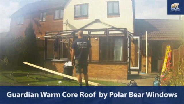 Guardian Warm Core Roof (tiled conservatory roof) by Polar Bear Windows Bristol #timelapse