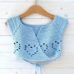 How to crochet a little girl's heart ballet cardigan – the Margo ballet cardigan