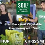 Fall Backyard Vegetable Gardening – Day 1 – Foodscaping in Containers & All About Growing Garlic