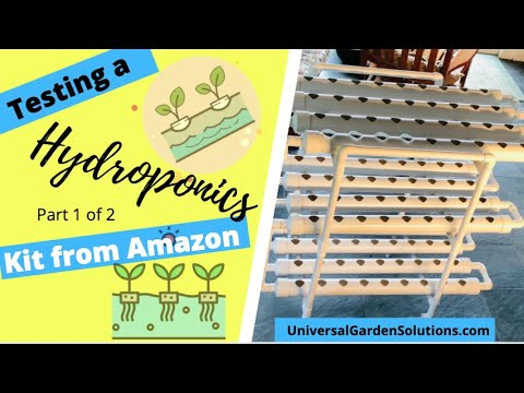 Building a Hydroponic System from DreamJoy purchased through Amazon.