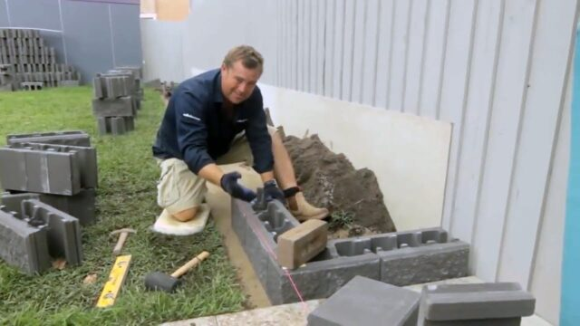 DIY Raised Garden Bed How-to Video | Versawall® Retaining Wall Blocks by Adbri Masonry