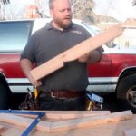 The easiest way to make common rafters without a calculator step method