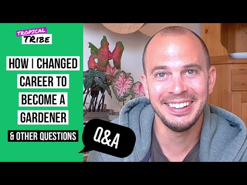 How I changed career to become a gardener & more | Tropical Tribe Q&A