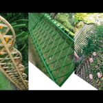 DIY Fence Garden ideas From Bamboo || Creative Hanging Planter Ideas || Bamboo Decoration ideas