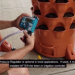 Installing an electronic Hose or Irrigation Timer on the Garden Tower 2 Watering System
