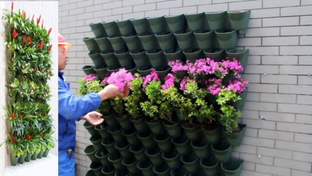 Worth vertical wall planter standard installtion edition