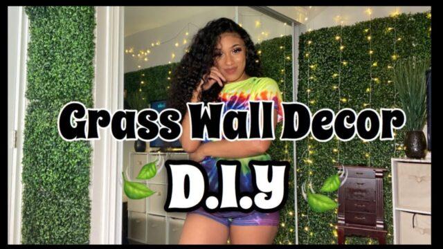 Diy Grass Wall Cheap