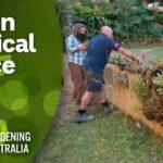 Portable vertical gardening | DIY Garden Projects | Gardening Australia