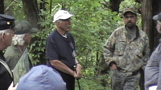 Chicago Civil War Round Table Tour of the Vicksburg Battlefield in 2005 Part  7