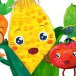 Vegetable Song (2D) + More Nursery Rhymes & Kids Songs – CoComelon