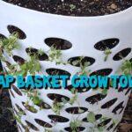 Cheap basket grow tower!